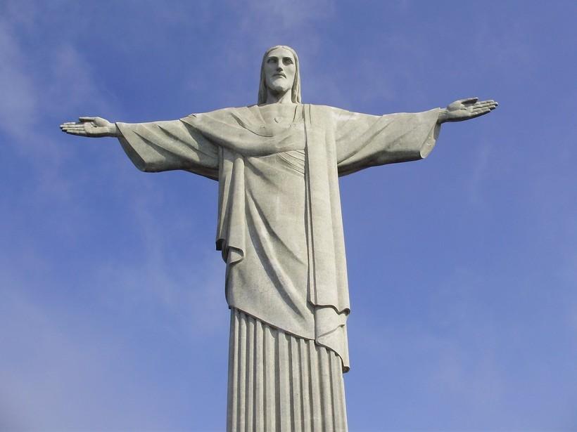 Статуя христа в бразилии фото
