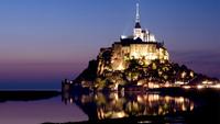"""Остров-крепость Мон-Сен-Мишель. Уникальная """"Пирамида в океане"""""""