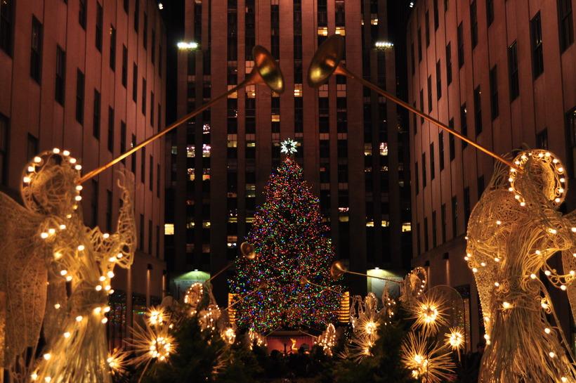 Рождественские картинки америка