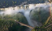 Узнайте, где можно полетать над самым большим водопадом в мире