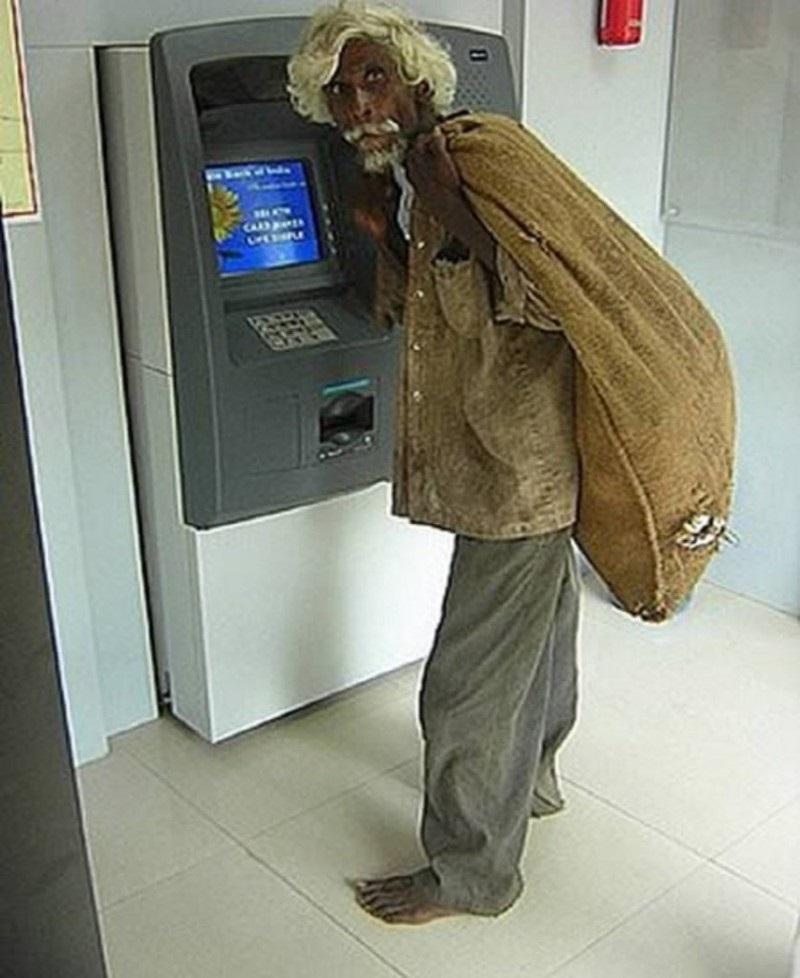 место смешные картинки про банкомат более
