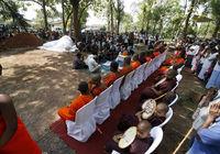 10 впечатляющих фото о том, как буддисты хоронят слонов