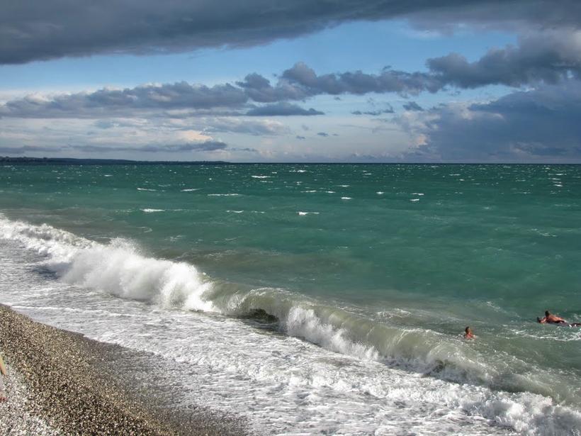картинки черное море абхазия моде вязаные аксессуары