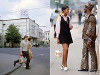 Москва и Нью-Йорк почти 50 лет назад: визуальное сравнение двух больших городов