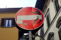 Дорожные знаки Флоренции