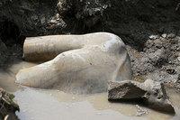 В Каире была найдена статуя фараона Рамзеса II, возраст которой 3000 лет