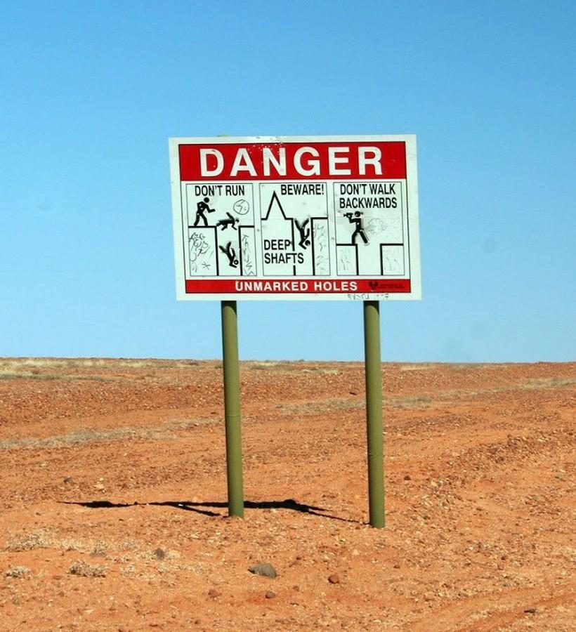 Подземный город в Австралии, где живут 2 000 человек