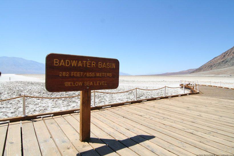 долина смерти Путешествие в Долину Смерти Badwater