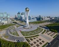 Астана на карте россии