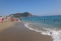 Средиземное море в Алании весной