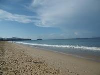 Знаменитый пляж Карон