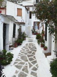 Классический афинский дворик