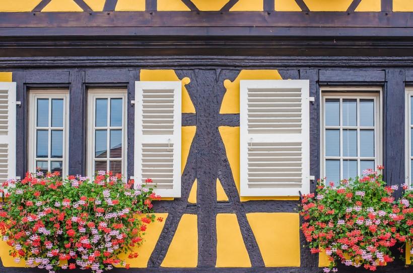 Французские окна, Париж