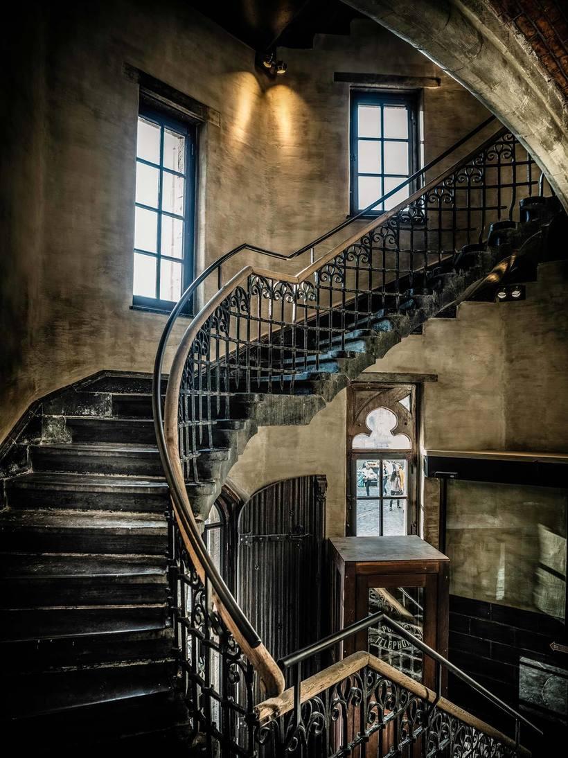 Старинные лестницы картинки