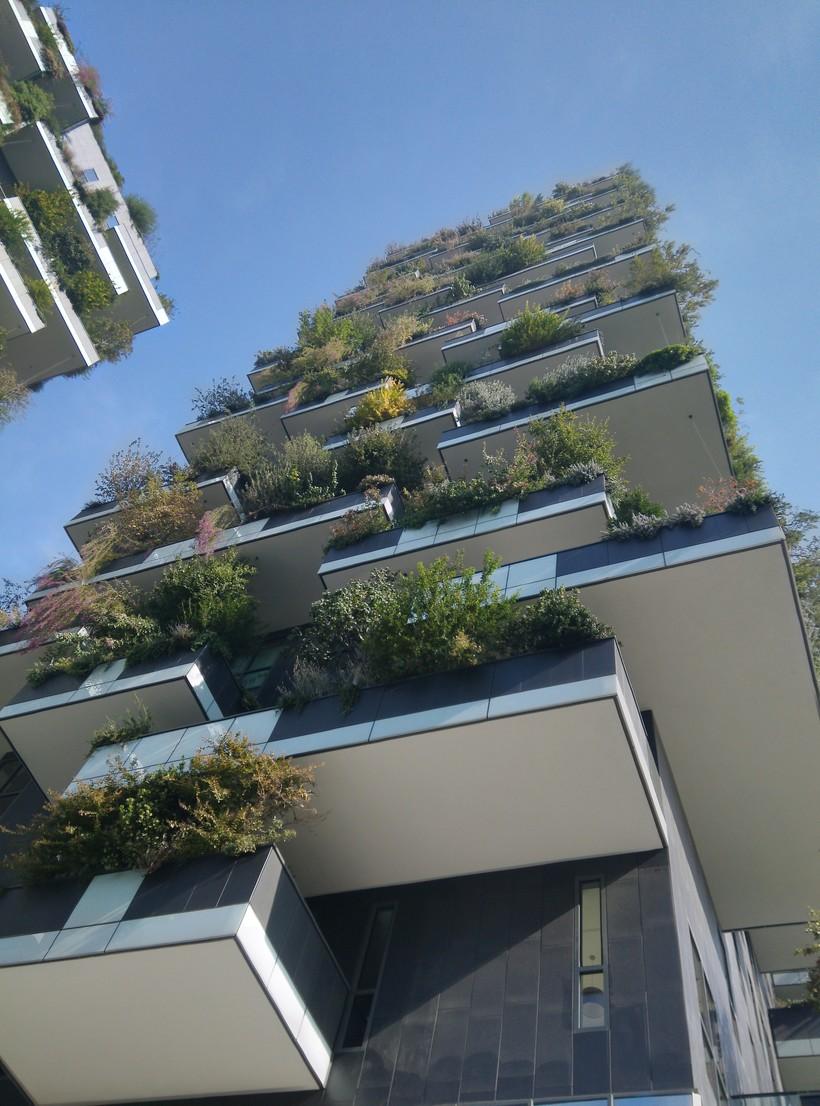 Милан, зеленый дом