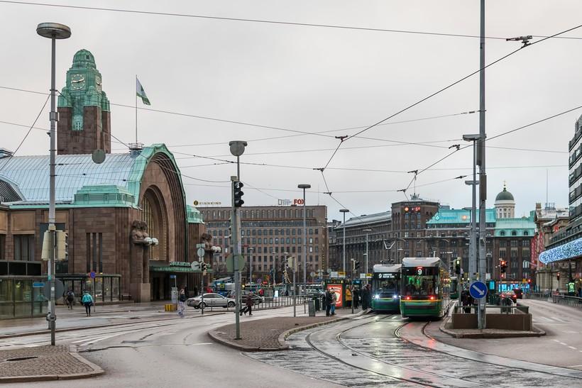 Железнодорожная площадь Хельсинки
