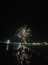 Новогодний фейерверк в Гоа