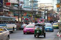 Улицы Бангкока в январе
