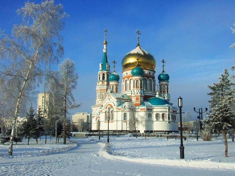 Кафедральный собор в Омске
