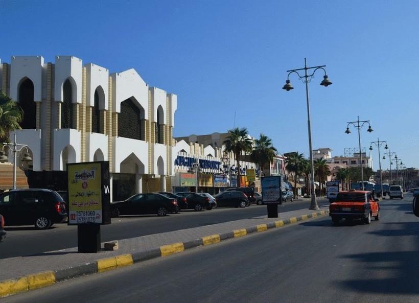 Египет, Хургада — улица Шератон