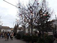Рождественская елка на площади Клебера