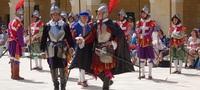 Парад Мальтийских рыцарей. Валлетта.