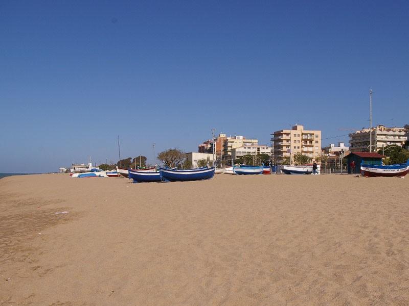 Пляж побережья Коста-Брава