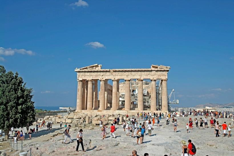 Афины: афинский Акрополь