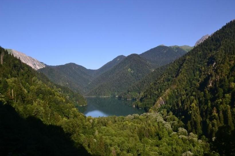 о. Рица, Рицинский реликтовый национальный парк, Абхазия