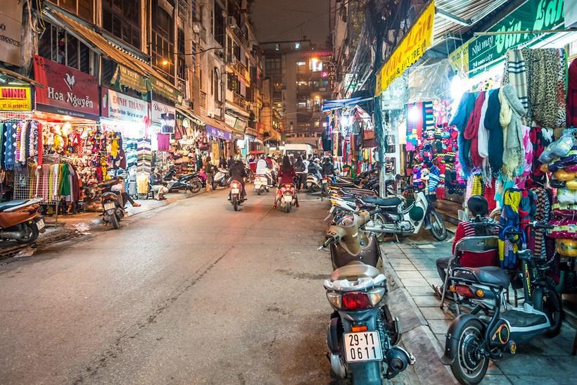 Вьетнам, улицы в Хошимине