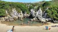 Испания, пляжи Астурии