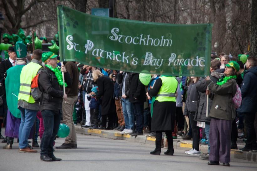 День святого Патрика в Стокгольме