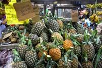Ананасовое изобилие на рынках Пенанга