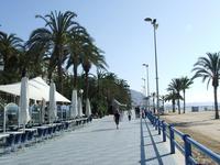 Аликанте: вдоль пляжа Postiguet