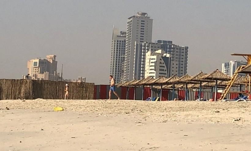 Пляж Аджман в Шардже
