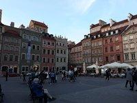 На площади Старого города, Варшава