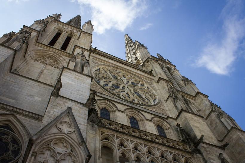 Бордо: кафедральный собор Сен-Андре