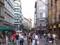 Будапешт: прогулка по улице Ваци