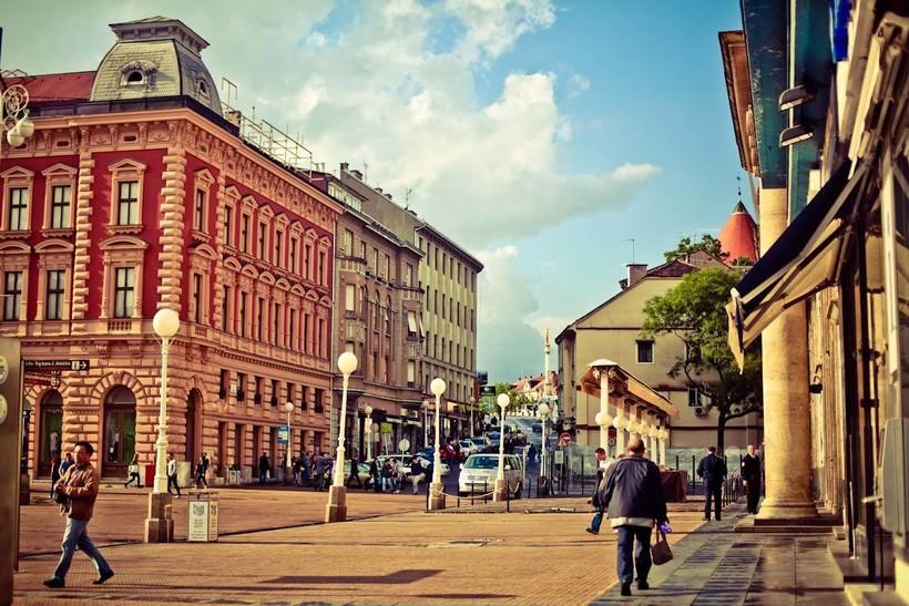 Хорватия, прогулка по Загребу