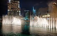Дубай: я на шоу поющих фонтанов