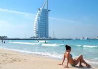 Мой пляжный отдых в Дубае!
