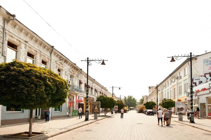 Симферополь: прогулка по улицам города