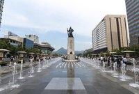 Сеул: площадь Кванхвамун