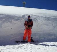 Стандартный наряд сноубордиста. Горы Тодорка, Банско