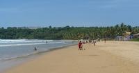Пляж на Гоа в ноябре
