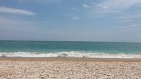 Пляж в Италии - адриатическое море