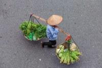 Фотограф отдает дань уважения вьетнамским уличным торговцам в серии ярких снимков