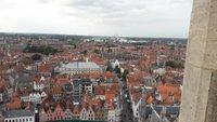 Вид на Брюгге с высоты птичьего полета