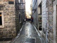 Прогулки по Старому городу в январе, Будва 2019