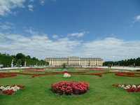 Дворец Шенбрунн в сентябре, Вена
